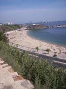 Praia de Sines, vista do castelo
