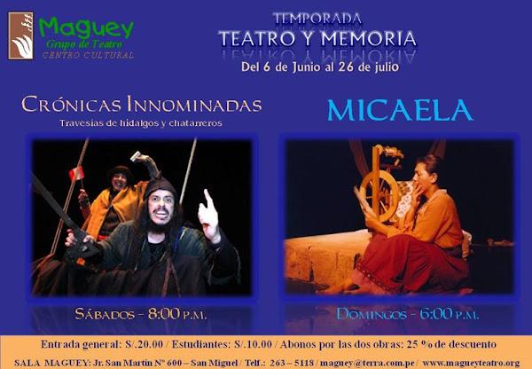 Teatro e historia