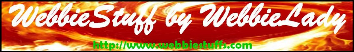 WebbieStuff by WebbieLady