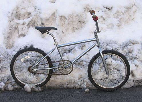 1991 redline 320 bmx bike - full side view