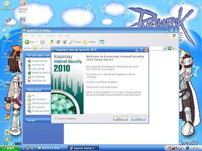 KIS 2010 langkah 3
