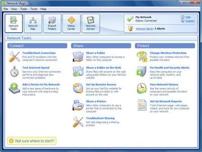 network screen