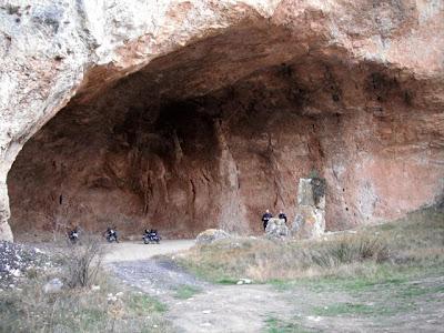 La impresionante cueva de Zafrané
