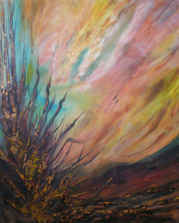 Reeds - Acrylic 4' x 5'