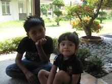 Danish dan Tisya di Taman.....