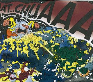 Corra jefe corra historias bblicas de ibez despus de poblar el universo entero el seor cre en un pis pas al hombrey a su mujer claro como vemos en el lbum nuestro antepasado el mico 2009 urtaz Gallery