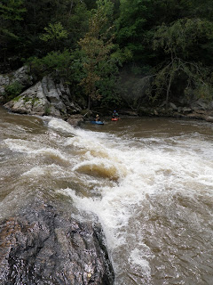 Kayaker's Ledge on the French Broad