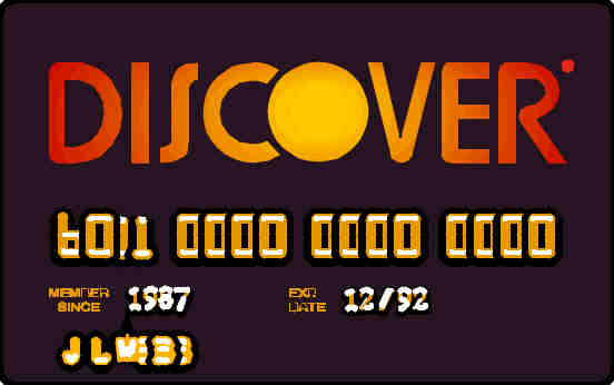 Living Stingy: The Discover Card