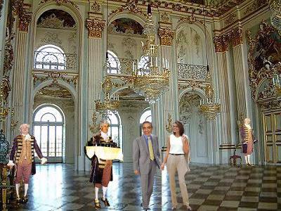 La favola della botte il castello di nymphenburg for Planimetrie della camera a castello