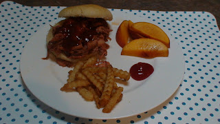 Pulled Pork with Fries
