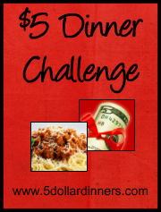 challenge+8 $5 Dinner Challenge
