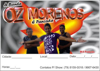 "OZ MORENOZ - ""O Groove do Pancadão"""