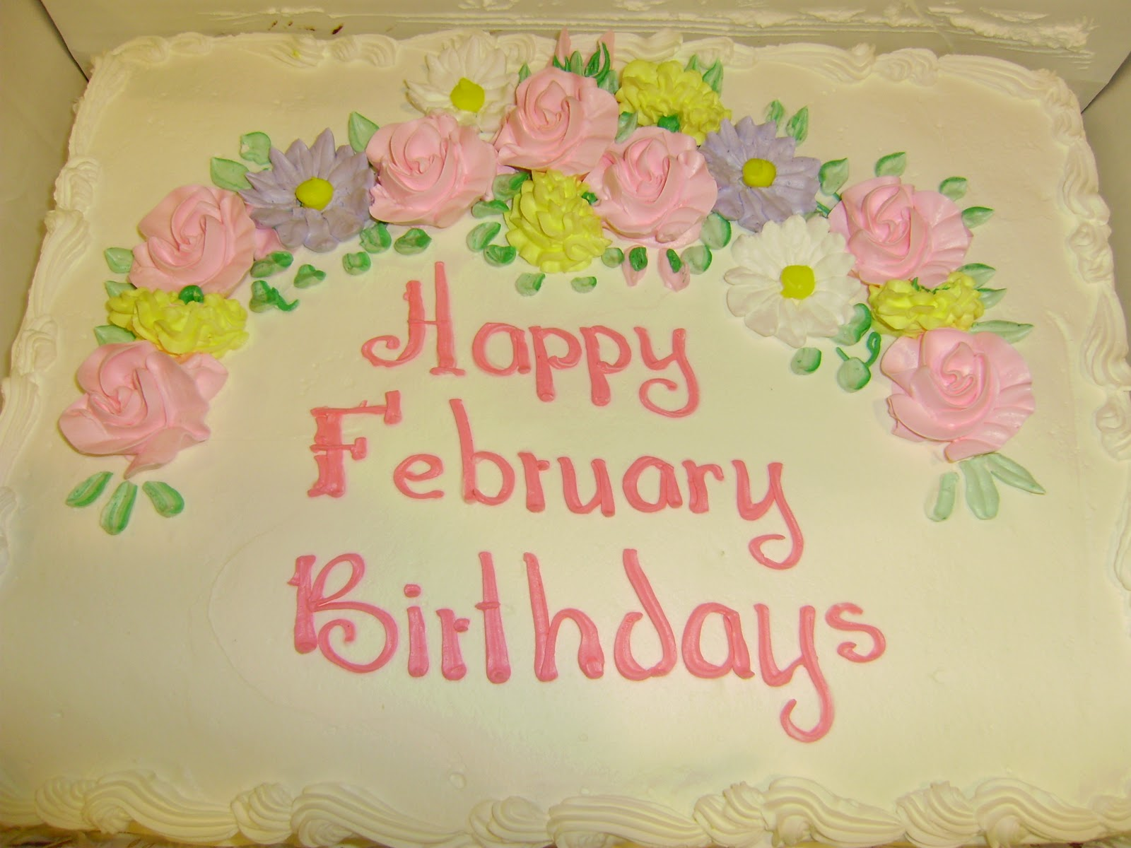 February Birthday Cakes Feb Birthday Cake Images Reverse Search