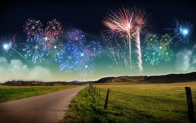 artificii spectaculoase de anul nou