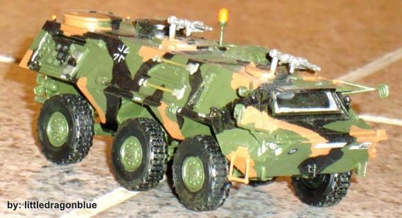 Blindado Transporte Pessoal - TPz 1 Fuchs