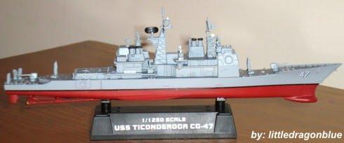 Cruzador - USS Ticonderoga CG-47