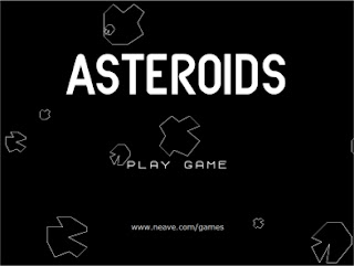 capture d'écran Asteroids