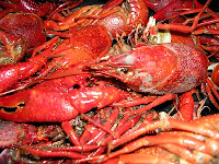 A Pile of Boiled Crawfish