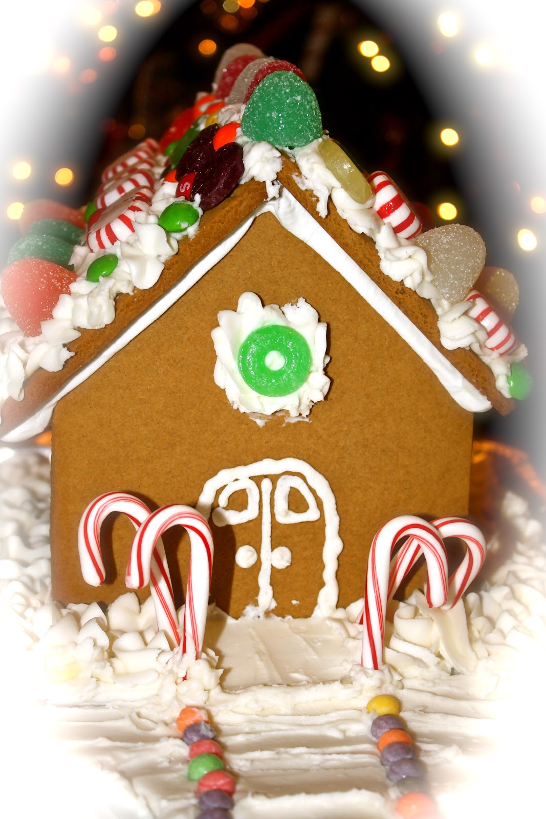 Kidsallergies make a gingerbread house for How do you make a gingerbread house