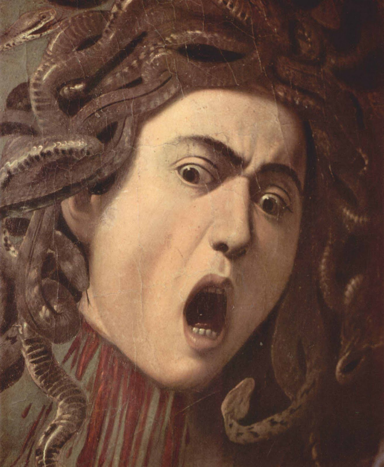 medusa painting by caravaggio medusa was once an exceedingly beautiful