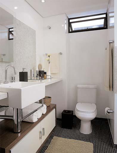Casa Da Clau Setembro 2010 -> Banheiros Simples Pintados
