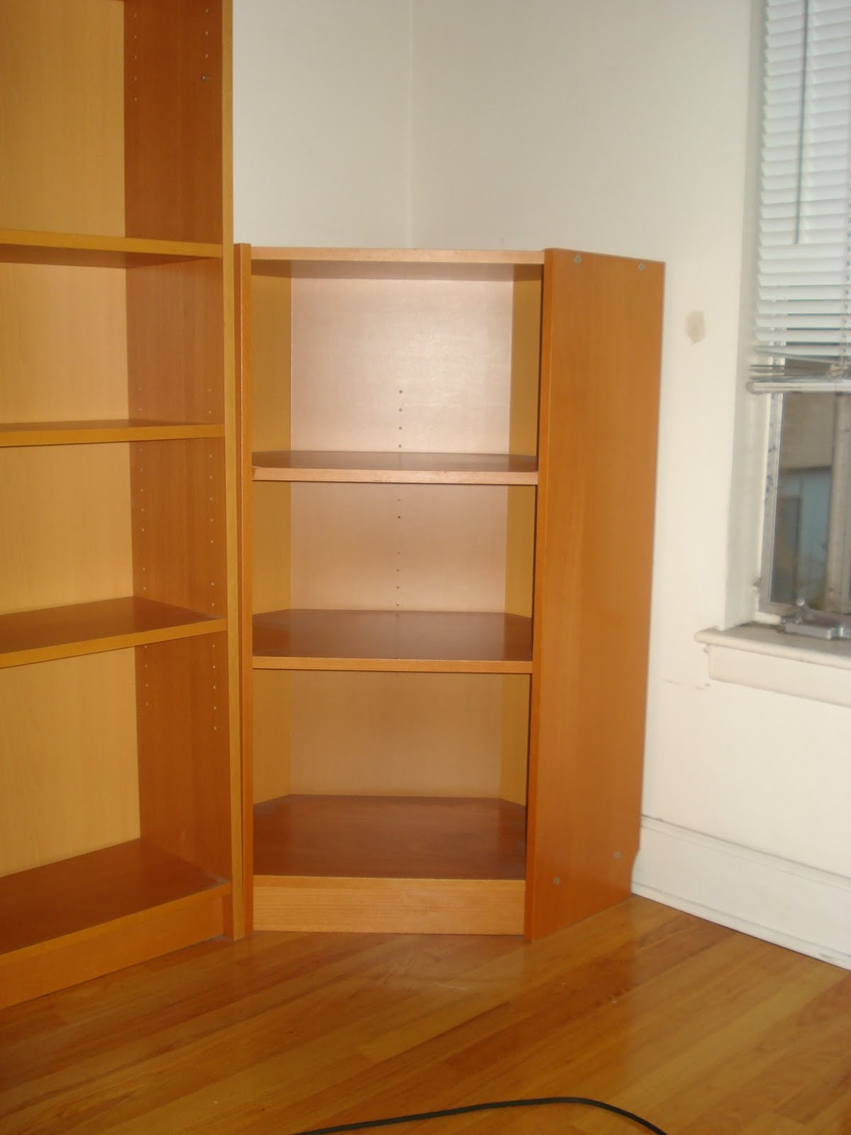 craig 39 s garage sale ikea corner bookcase