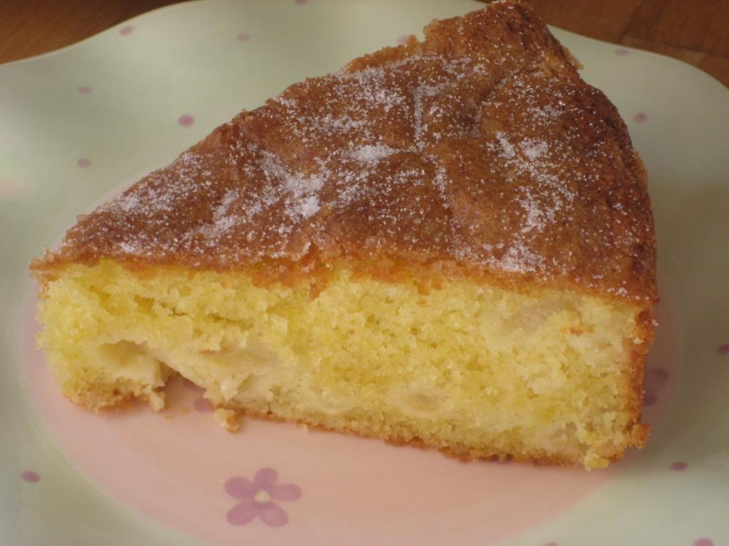 Dorset Apple Cake With Ground Almonds
