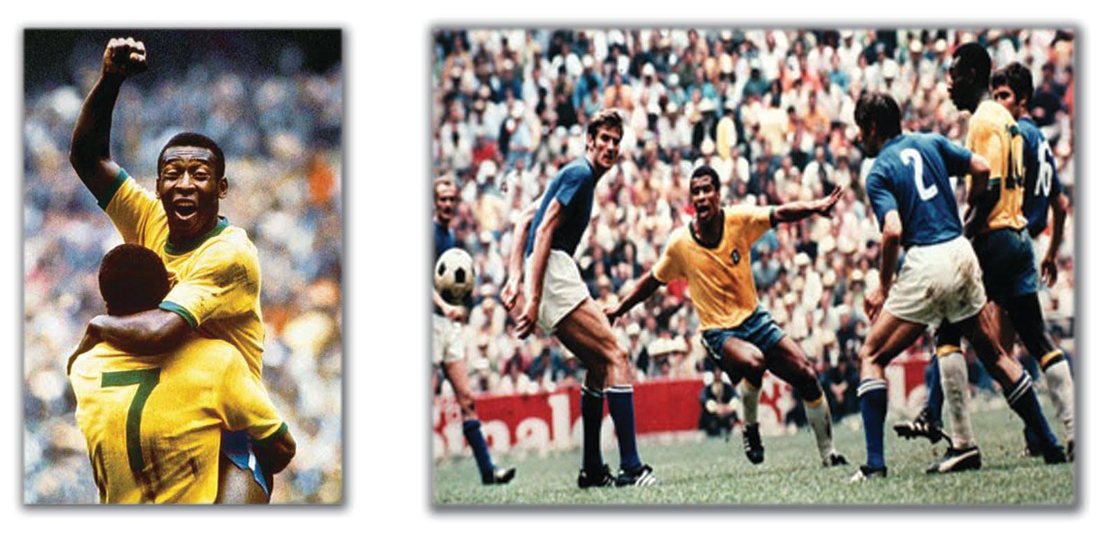 1nil modern retro football shirts Brazil 1970 No 7 Jairzinho