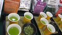 Sencha powder is becoming popular at sushi restaurants