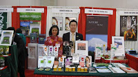 At the food show we showed off our sencha, genmaicha, and hojicha teas including our sencha and hojicha powders!