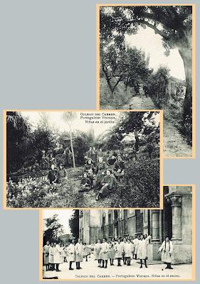 El mareometro blog ni as del colegio del carmen de for El jardin portugalete