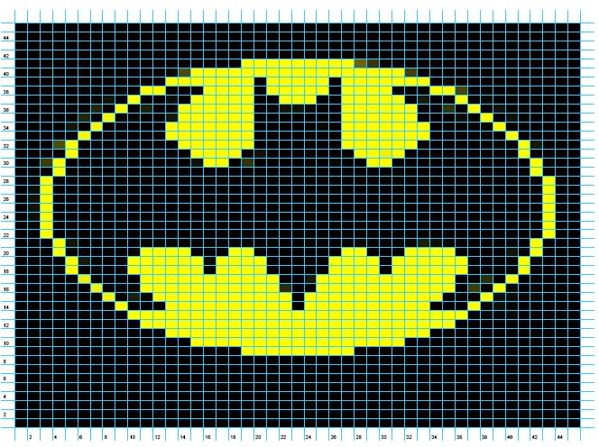 Knitting Pattern Batman Jumper : Crafty Adventures: The Batman Blanket