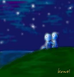 幸福降临时,连自然界也会配合浪漫气氛~