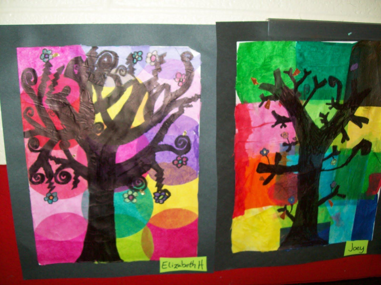 art with mr e 3rd grade art show work