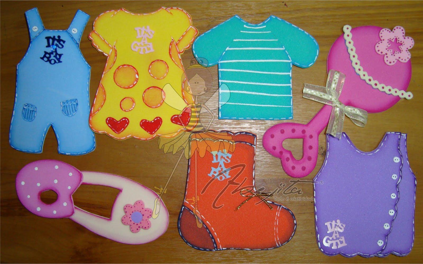 Recuerdos para baby shower, disponibles en varios colores y diseños.