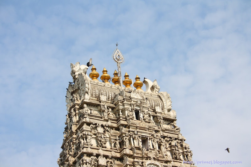 The tower of Subramanya temple