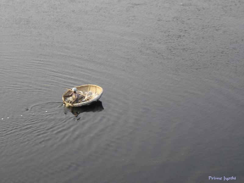 Boat in Kaveri River