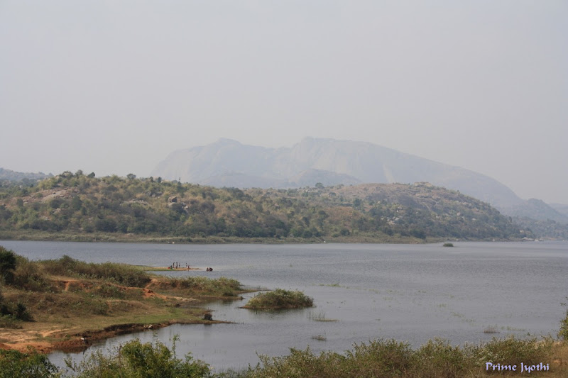 Another view of Manchanbele dam reservoir