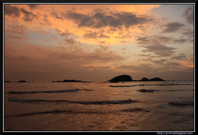 An Evening at Muzhappilangad Beach