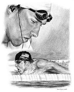 Michael Phelps World Swimmer