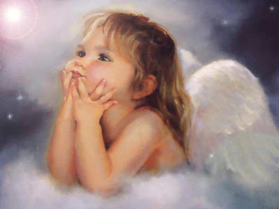 Cute Baby Fantasy Angel Wallpaper