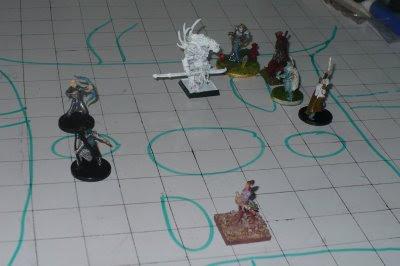 Rakan, Rubi, Dorian, Arianna e alguns elfos