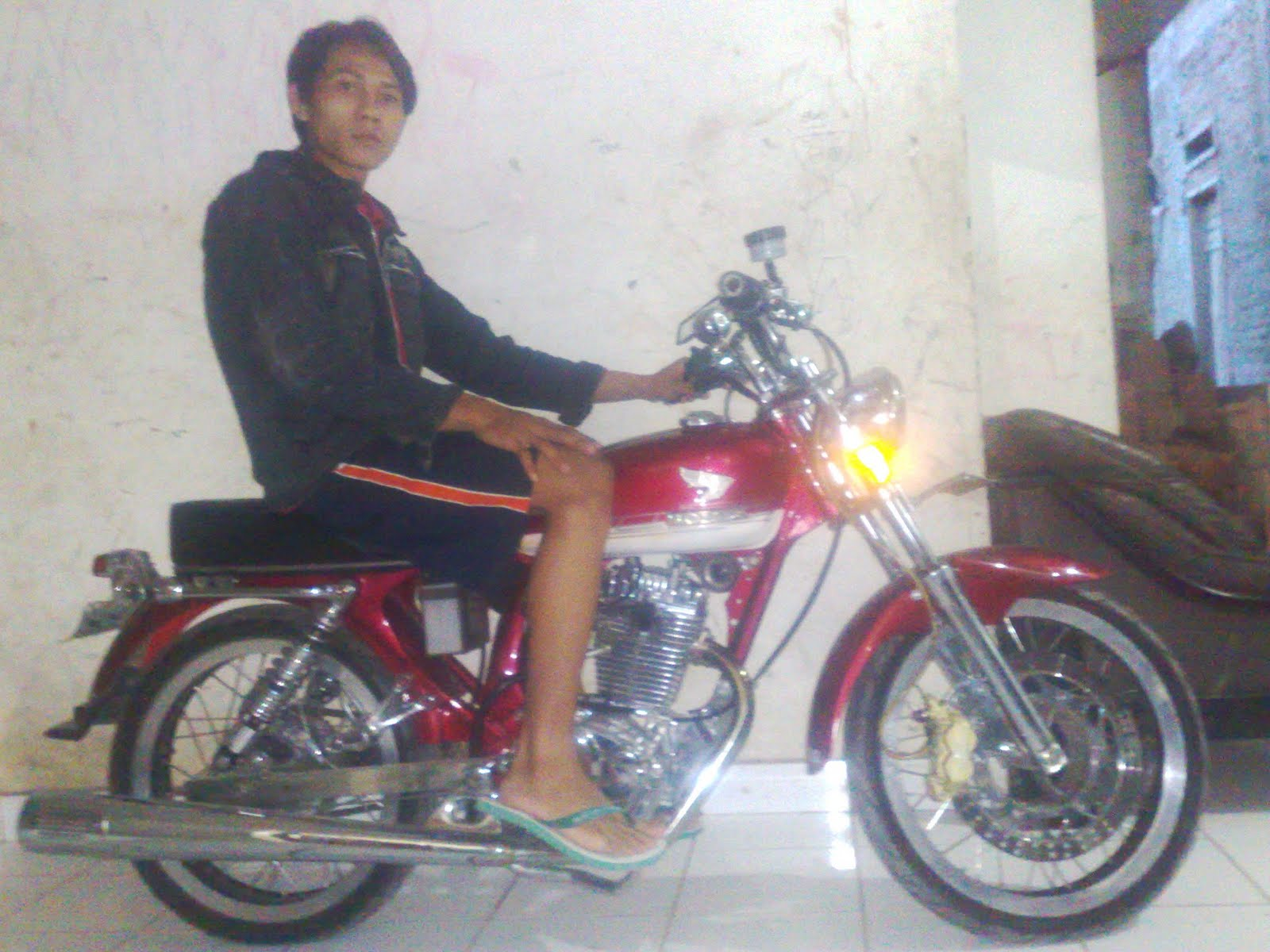 Modifikasi Honda CB125