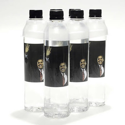 obama bottled water