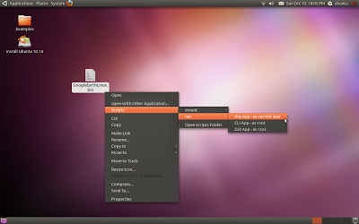 Linux-дистрибутив Ubuntu Super OS 10.10 800px-App_Runner_screenshot_1
