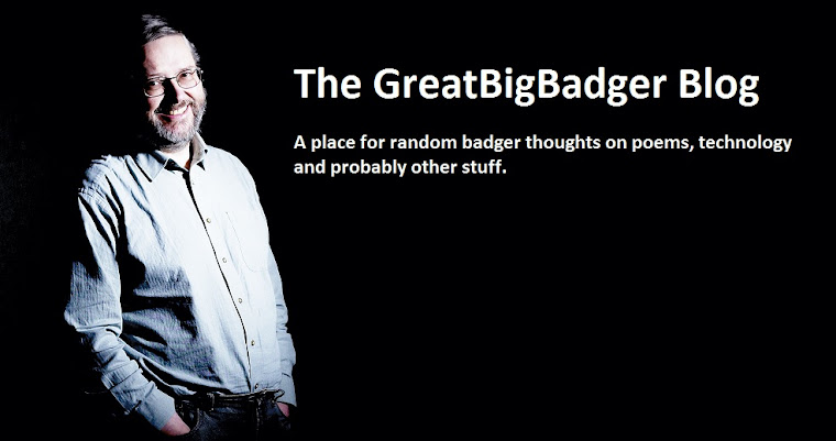 The GreatBigBadger Blog