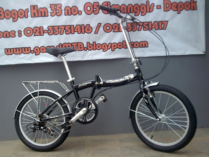 FOLDING BIKE ELEMENT 2008 New 100 % Rp. 1.850.000,-