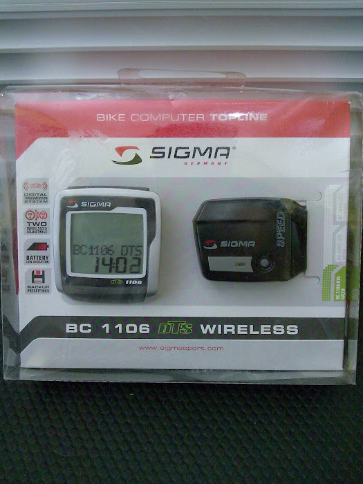 Ready Stock CYCO SIGMA WIRELESS BC-1106''
