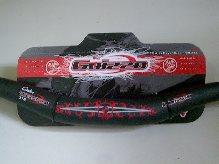 For sale: Rise bar GUIZZO CARBON OS 31.8