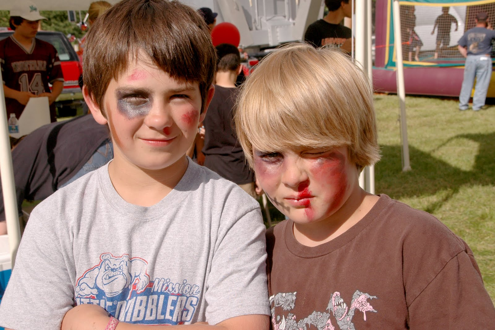 Cohesive pieces 2010 fire department picnic israel and gage went with a different approach to the face painting i guess this is the route you go if youre in middle school and want the pretty high ccuart Choice Image